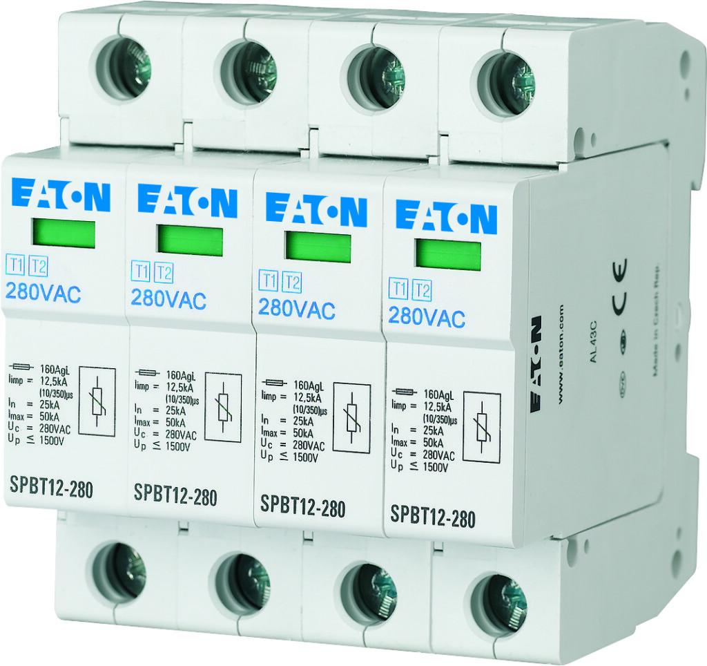 Rys.1 Ogranicznik przepiec klasy I i II Eaton SPBT122804