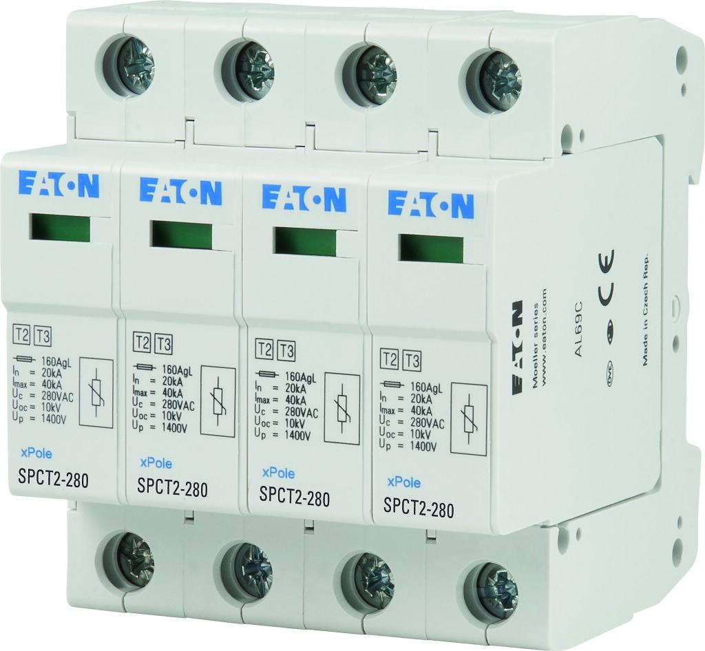 Rys.2 Ogranicznik przepiec klasy II Eaton SPCT22804